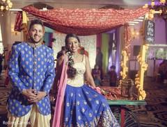 Maharani and raja joyful capture