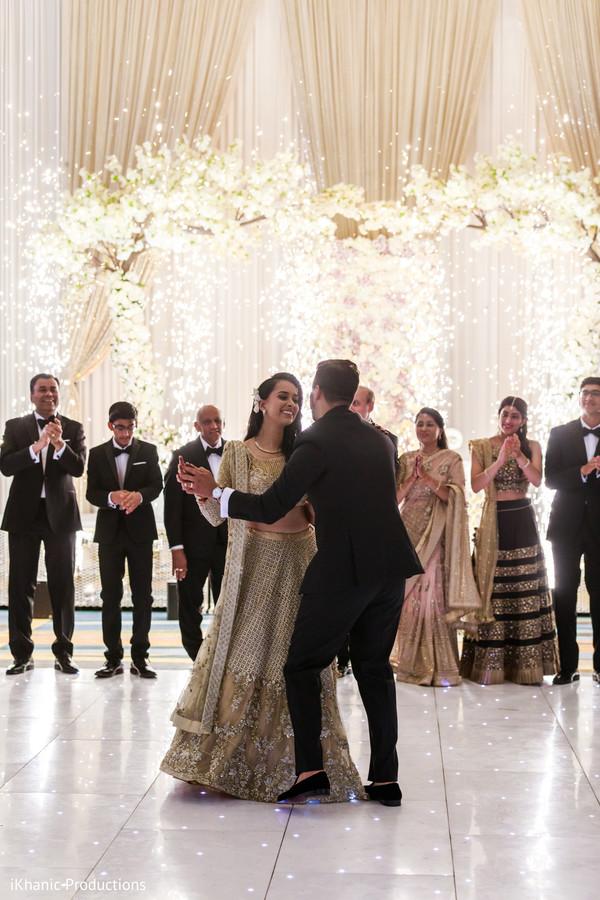 Indian bride and groom amazing dance.