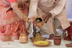 Detail of special objects used at the Indian wedding ceremony
