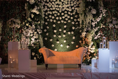 Detail of the Indian wedding venue decor