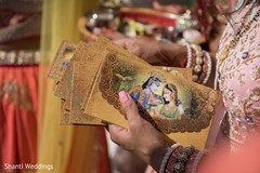 Detail of the traditional Hindu cards