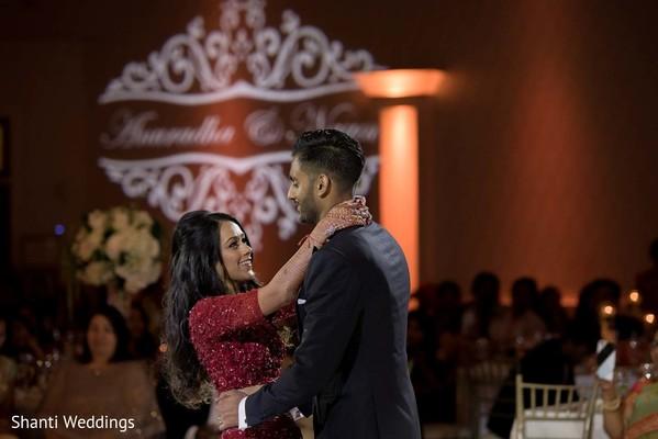 Maharani and Raja having their first dance