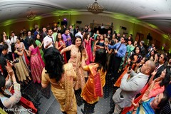 Memorable Indian bride and bridesmaids dance performance.