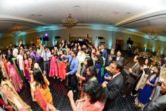 Incredible Indian wedding reception capture.