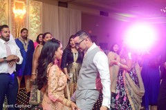 Indian couple rocking the dance floor.