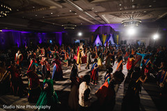 Stunning garba dance capture.