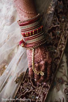 Gorgeous maharanis bangles and Hath Panja bracelet.