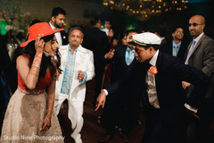 Indian lovebirds reception dance capture.