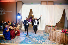 It is the groomsmen's turn to have some fun