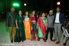 Maharani posing with family members capture.