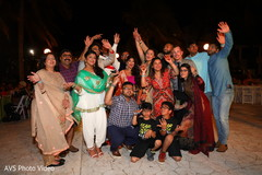 Wonderful Indian pre-wedding celebration capture.