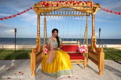 Maharani at her sangeet stage.