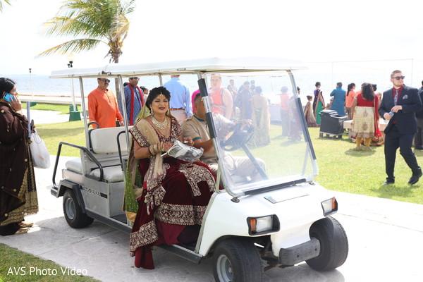 indian bride,indian wedding ceremony fashion,transportation