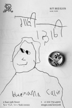 Lovely drawing made by a kid for the Indian bride