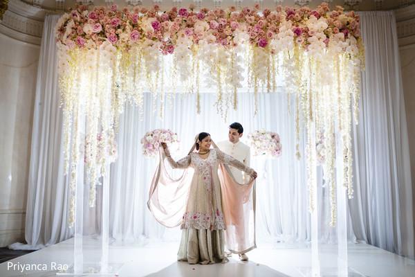 indian wedding,decor,mandap,flowers