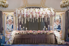 Table design ideas for the Indian wedding venue