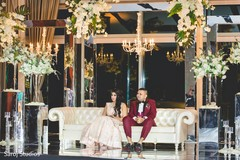 Overview of the beautiful floral decor