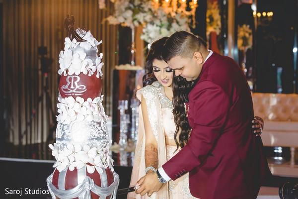 indian bride,raja,cake,venue
