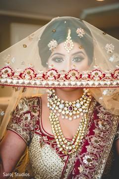 Beautiful portrait of maharani getting ready