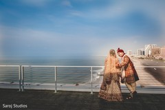 Creative Indian couple's photo session