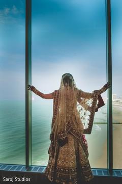 Magnificent photo of maharani looking at the sea