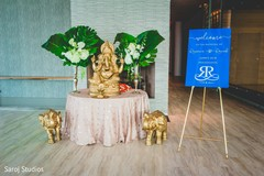 Table dedicated to Ganesha at the venue