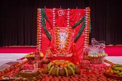Indian wedding decor details