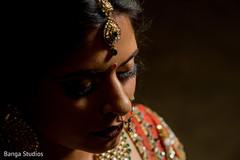Marvelous Indian bridal hair tikka.