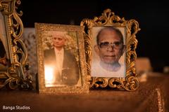 Elegant Indian wedding portraits.