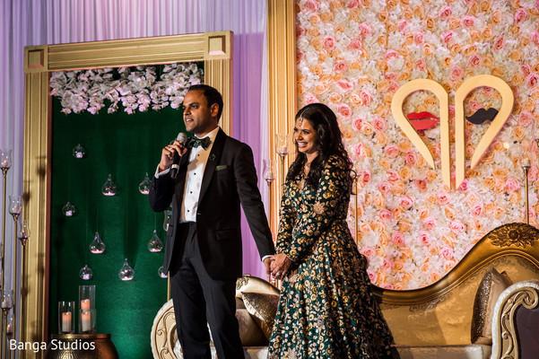 Indian grooms speech scene.