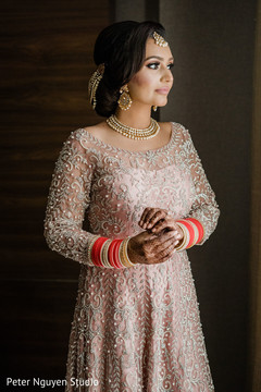 Portrait of the gorgeous maharani before the reception