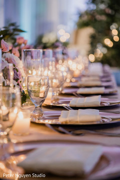 Table decor ideas for the Indian wedding reception