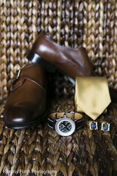 Indian groom's wedding  accessories.