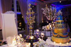 See this lovely Indian wedding reception decor.