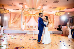 Most romantic indian bride and groom's dance.