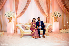 Most romantic indian bride and groom photo session.