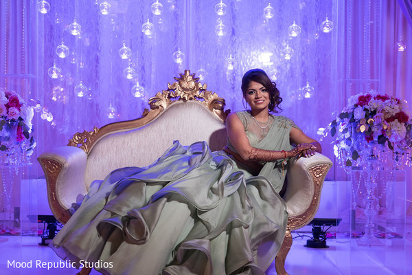 Stunning maharani posing at the venue