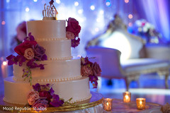 Details of the Indian wedding cake