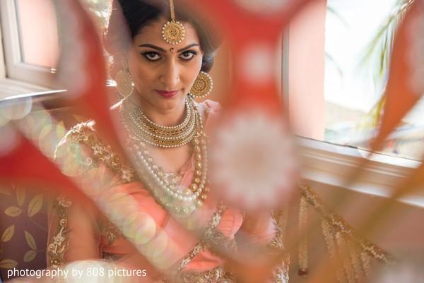 Beautiful maharani looking at the camera