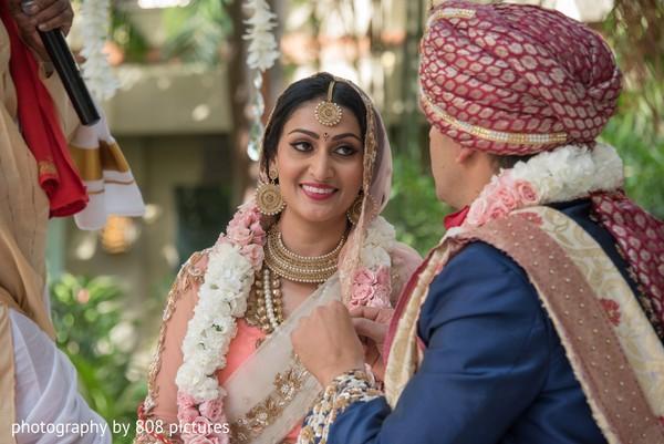 indian bride,indian groom,ceremony,outdoors