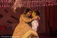 Maharani and Raja dancing at the reception ceremony