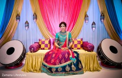 Gorgeous indian bride photo.
