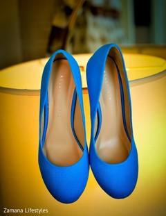 Stunning Indian wedding shoes.