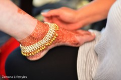 Marvelous Indian bridal anklets.
