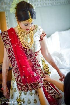 Lovely bridal with lehenga  fashion.