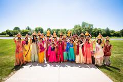 Stunning capture of the Indian bridesmaids outdoors