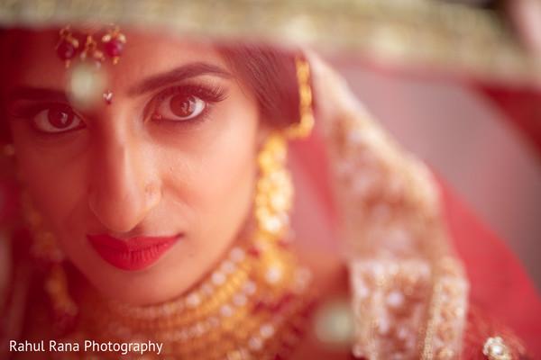 indian bride,maharani,lengha,makeup