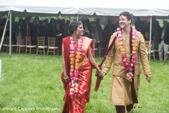Enchanting Indian lovebirds out of ceremony.