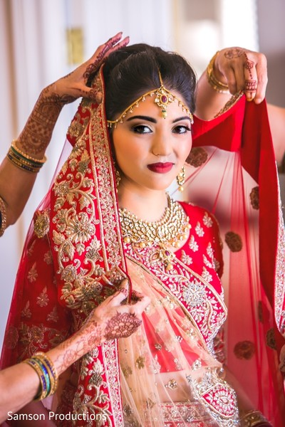 Stunning maharani wearing the lengha