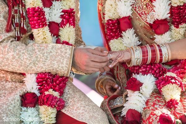 Maharani and Raja at the ceremony